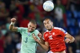 Pepe Eren Derdiyok Switzerland Portugal WCQ