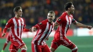 Olympiakos goal celebration