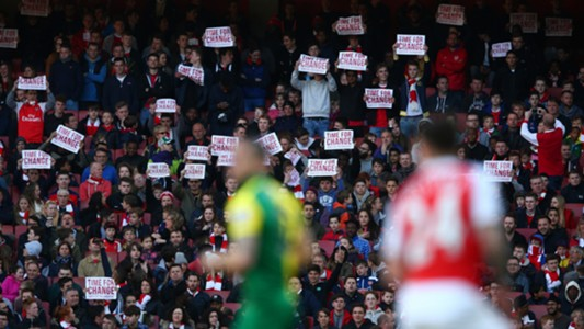 Arsenal fans EPL 04302016