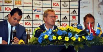 Sweden National Team Coach Erik Hamren
