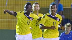 Jeison Lucumi and Davinson Sanchez Colombia U20