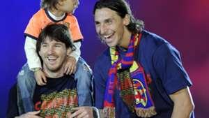 Ibrahimovic Messi 2010