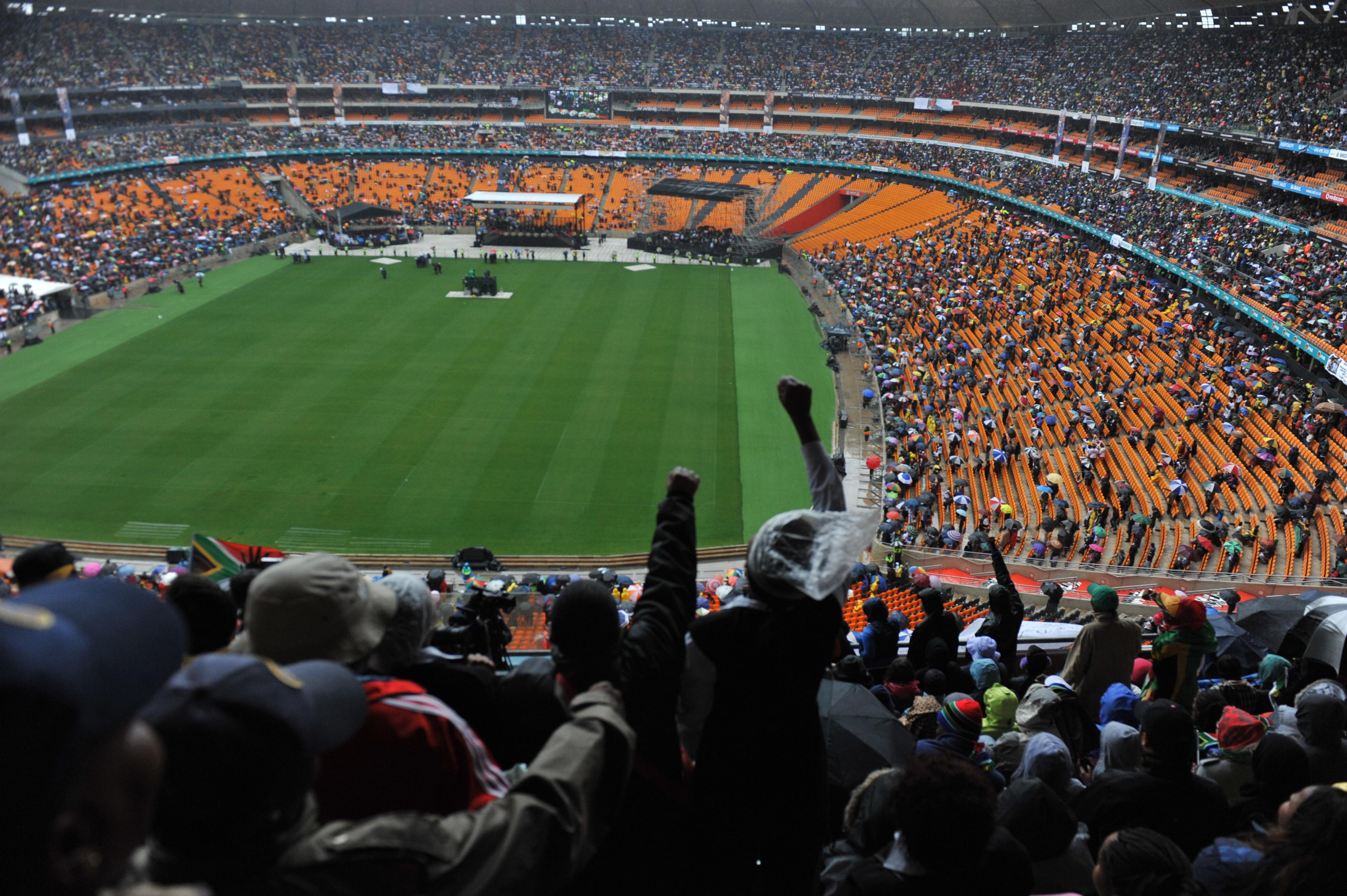 Fnb Stadium Soccer City Johannesburg South Africa