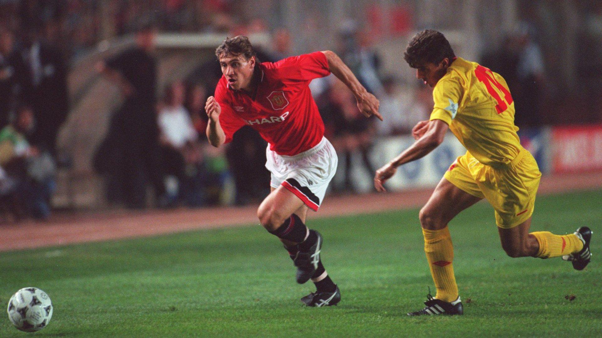 Andrei Kanchelskis Hamza Hamzaoglu Galatasaray Manchester United UCL 1994