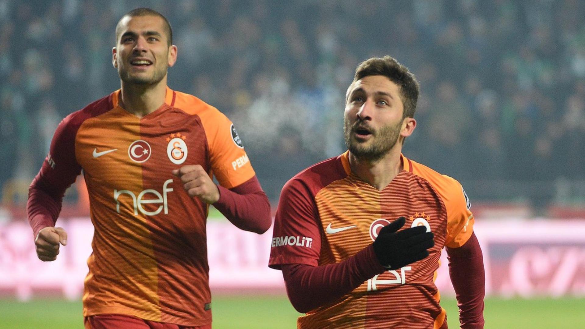 Konyaspor Galatasaray Eren Derdiyok Sabri Sarioglu 01142016 STSL
