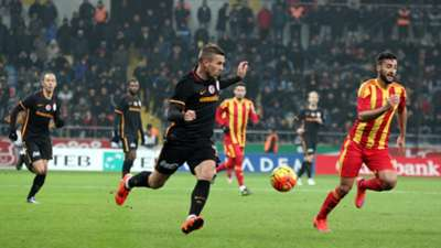 Lukas Podolski Kayserispor Galatasaray 27122015