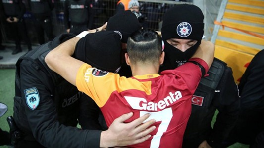 Yasin Oztekin Galatasaray goal celebration