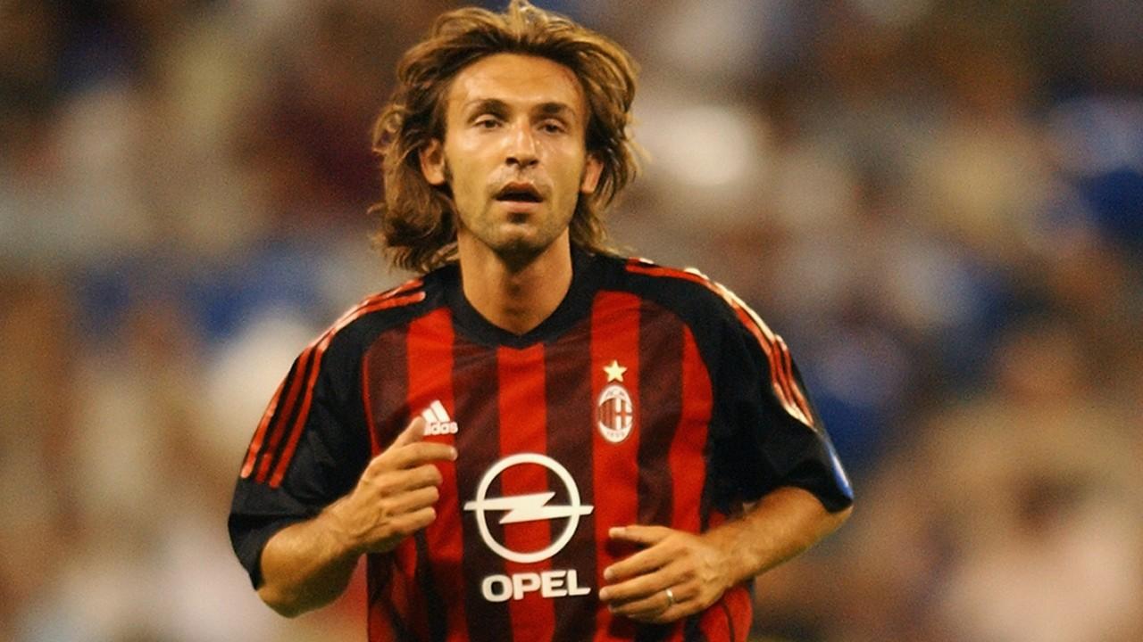 Andrea Pirlo Milan 2002