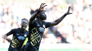 Badou Ndiaye goal celebration, Midtjylland - Osmanlispor