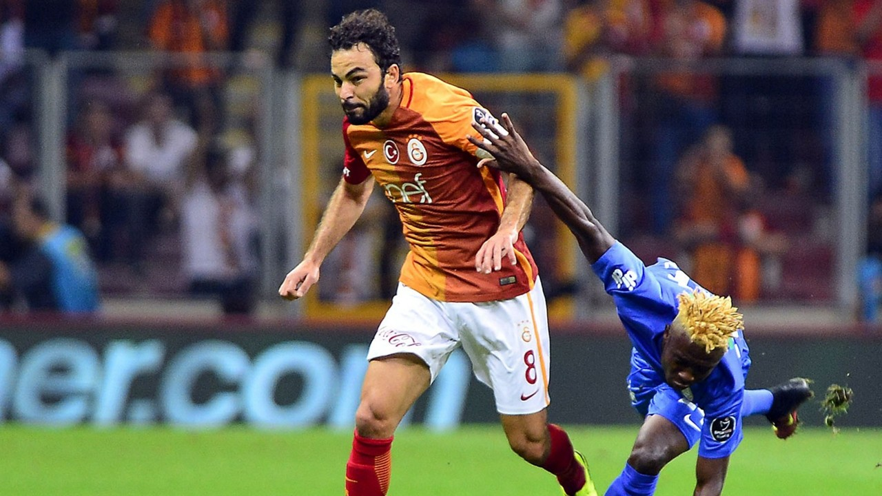 Galatasaray - Rizespor Selcuk Inan 091716