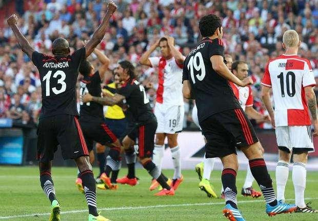 Feyenoord Besiktas UCL 07302014