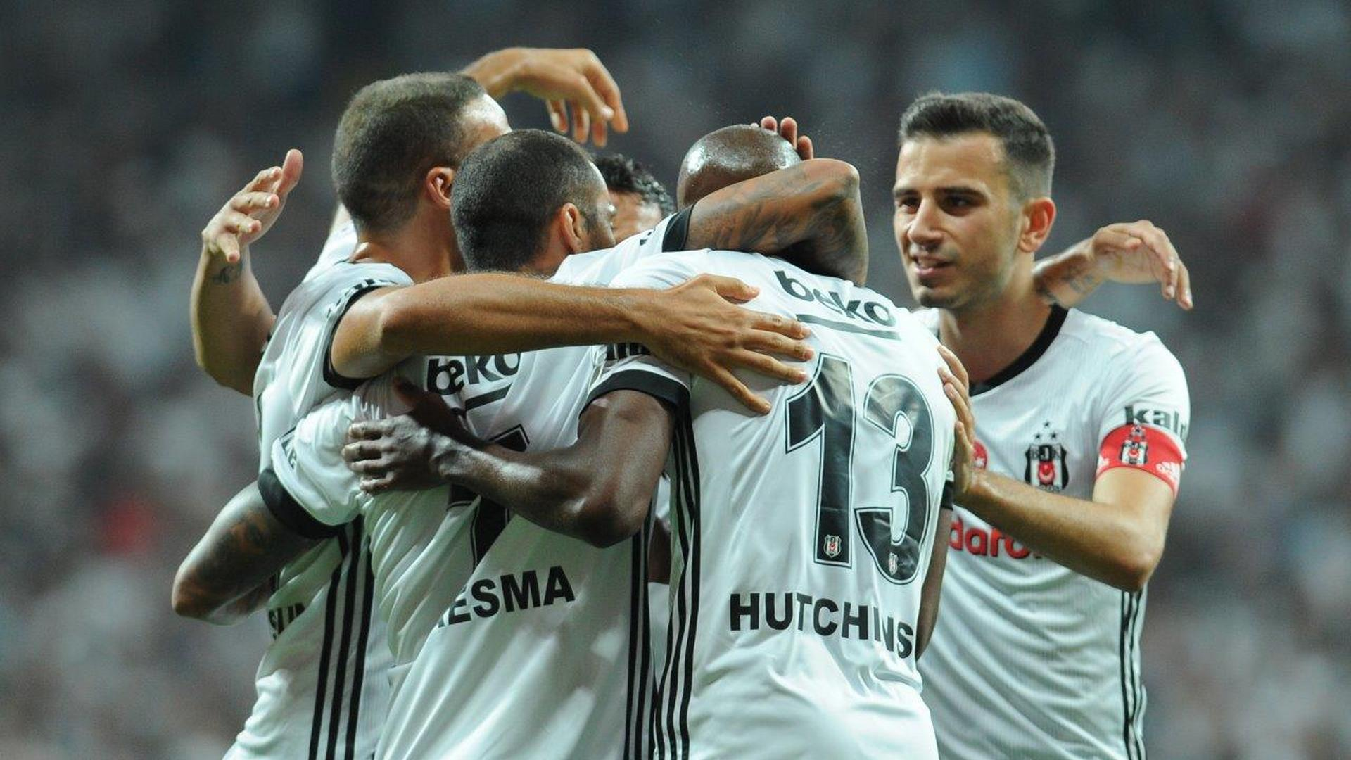 Besiktas goal celebration 2682017