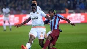 Kenneth Omeruo Hugo Rodallega Trabzonspor Alanyaspor STSL 02202017