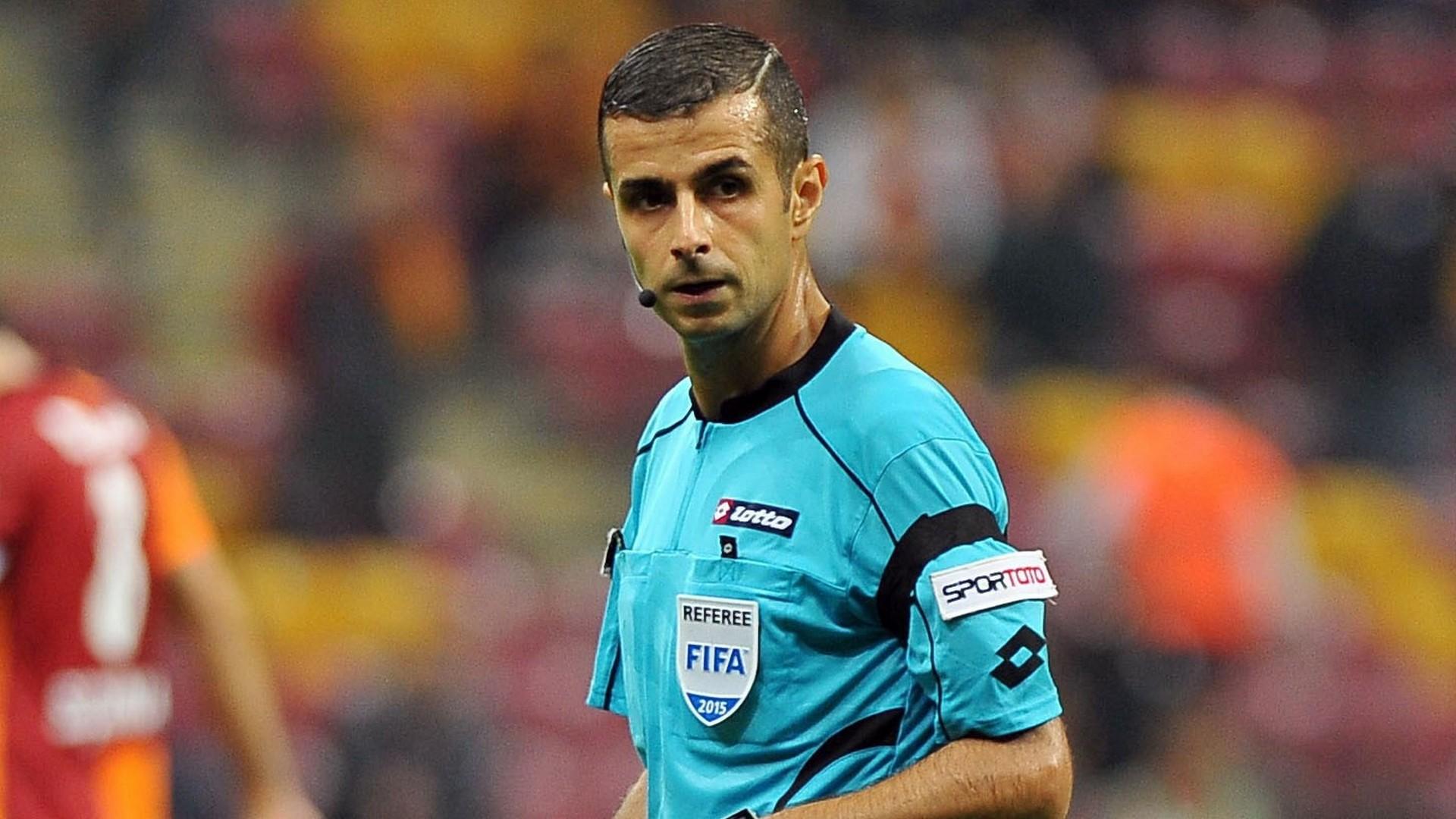 Mete Kalkavan Turkish referee