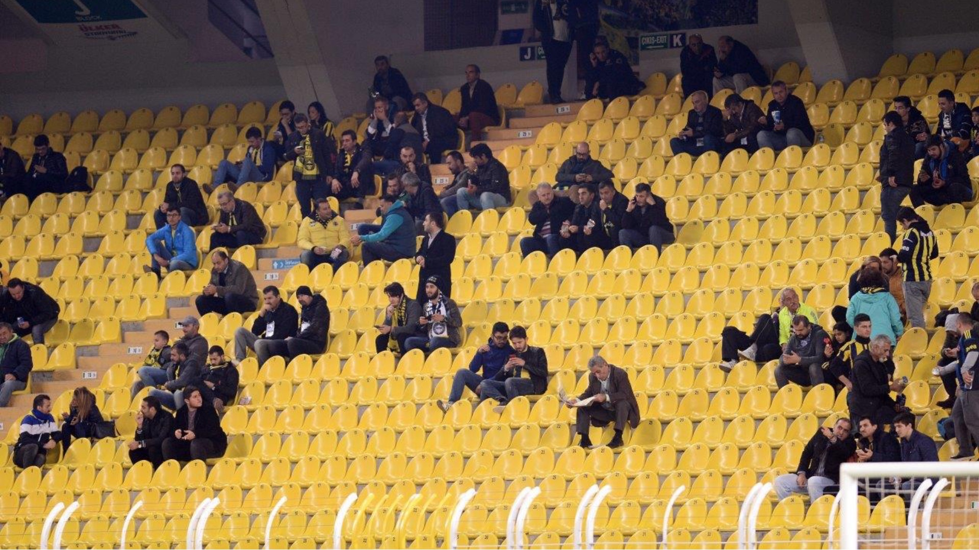 Fenerbahce Karabukspor taraftar 10302016