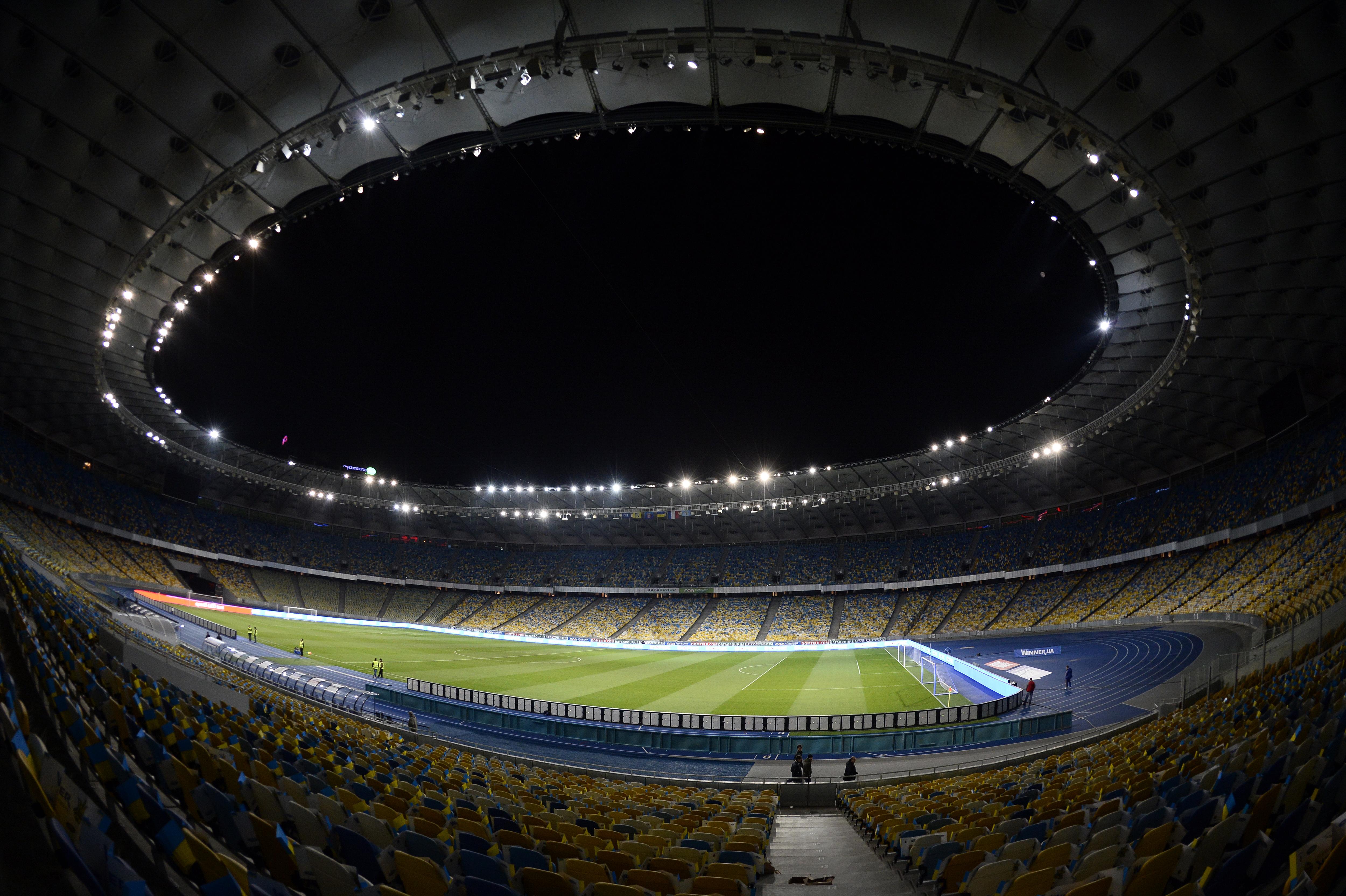Olympic Stadium: Kiev, Ukraine