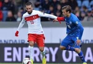 Arda Turan Elmar Bjarnason Iceland Turkey 09092014