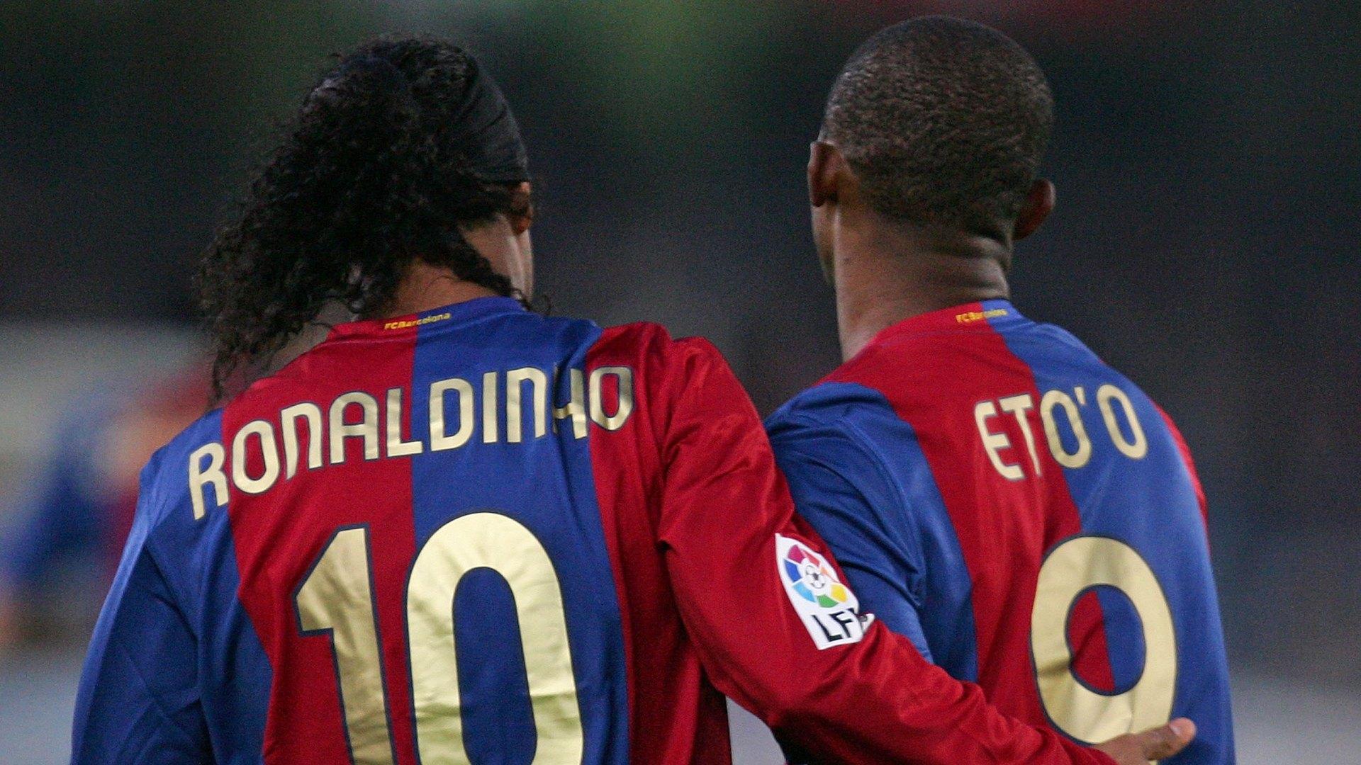 Ronaldinho Samuel Eto'o