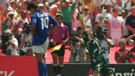 Claudio Taffarel Roberto Baggio 94 World Cup