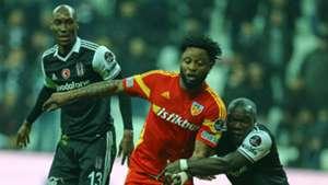 Atiba Hutchinson Raheem Lawal Aboubakar Besiktas Kayserispor
