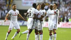Besiktas celebration vs Gaziantepspor 05282017