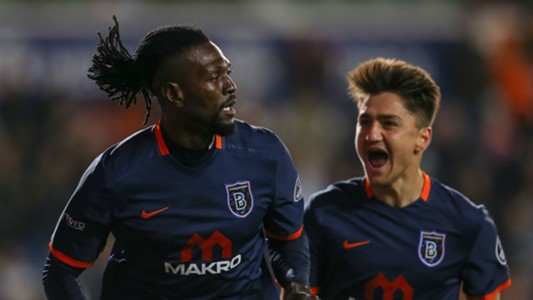Emmanuel Adebayor Basaksehir Galatasaray STSL 04102017