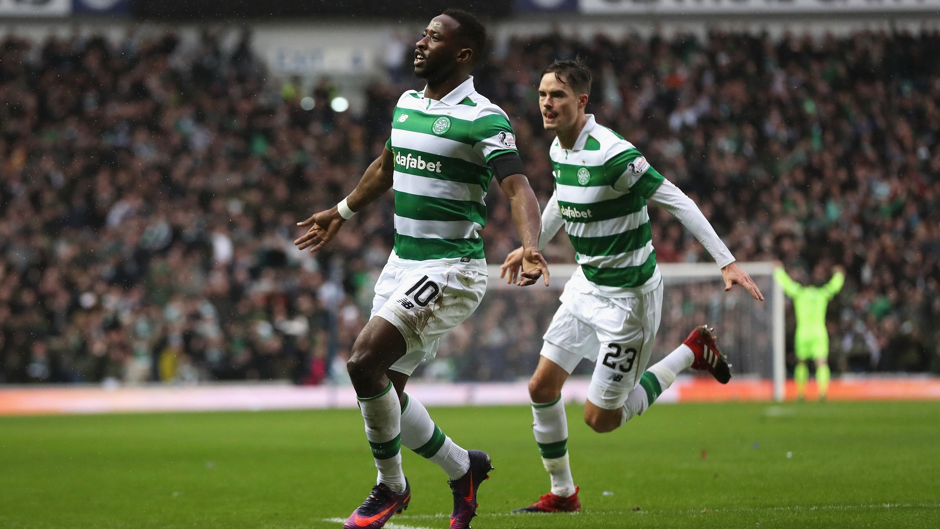 Moussa Dembele Celtic Rangers Old Firm
