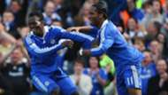 Michael Essien Didier Drogba Chelsea