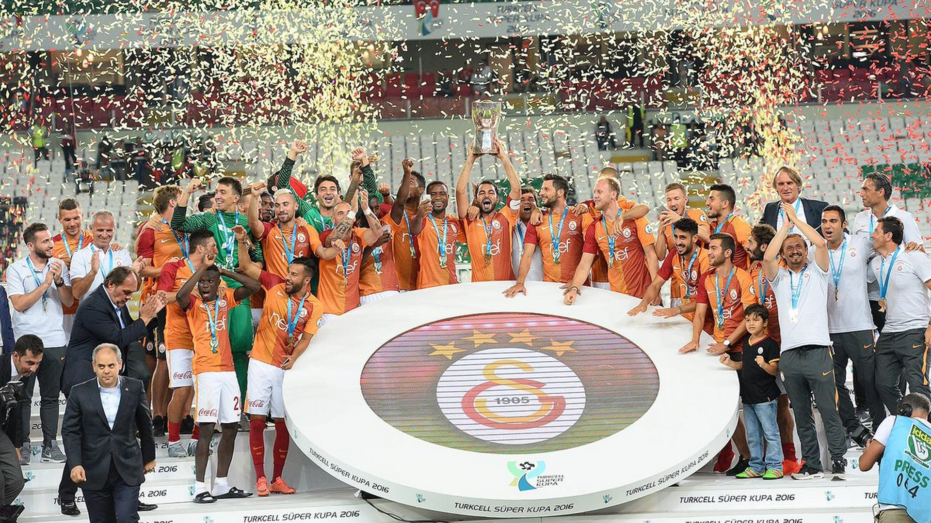 Galatasaray Super Cup 08142016