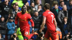 Sadio Mane James Milner Liverpool Premier League