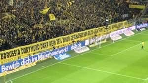 BVB Fan Protest Super League Bayern
