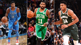 Paul George, Kyrie Irving and Giannis led their respective teams to huge wins on Thursday night