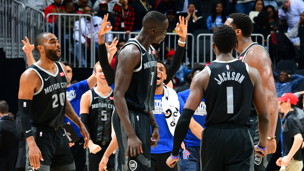 Thon Maker is relishing the opportunity of more playing time in Detroit: 'I just wanted to play'