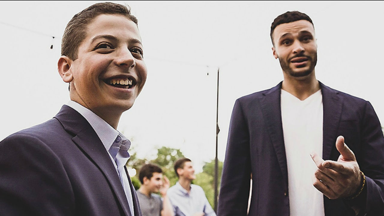How an Instagram conversation led Larry Nance Jr. and Noah Weber to come together to help fight Crohn's disease