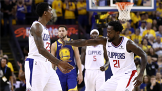 Lou Williams and Patrick Beverley