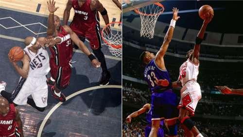 super popular db1ea 4d2a9 Ranking Vince Carter and Michael Jordan s all-time greatest dunks    NBA.com. )