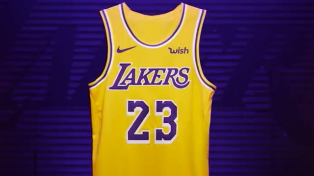 new styles 26969 070d0 Los Angeles Lakers unveil uniforms for 2018-19 season | NBA ...