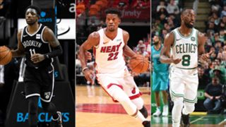 Kyrie Irving, Jimmy Butler and Kemba Walker