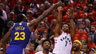 Kyle Lowry missed a potential game-winning 3-pointer at the end of the fourth quarter.