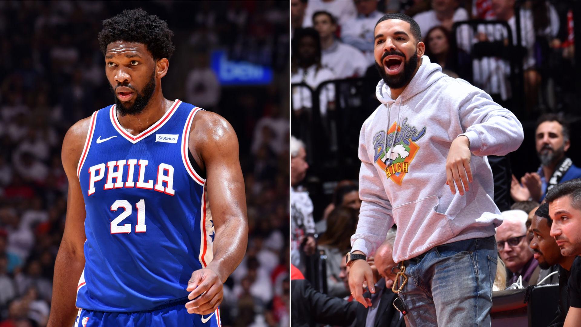 NBA Playoffs 2019: Joel Embiid Tells Drake The