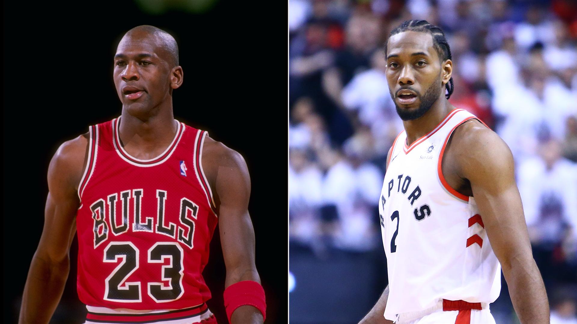 huge selection of dbaa0 66c9f NBA Playoffs 2019  Breaking down which buzzer-beater was better  Kawhi  Leonard or Michael Jordan    NBA.com. )