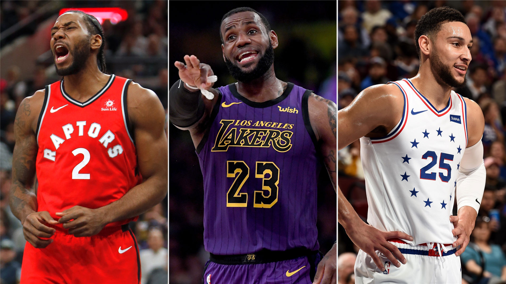 36049536a NBA All-Star Game 2019  Takeaways from the second fan vote results ...
