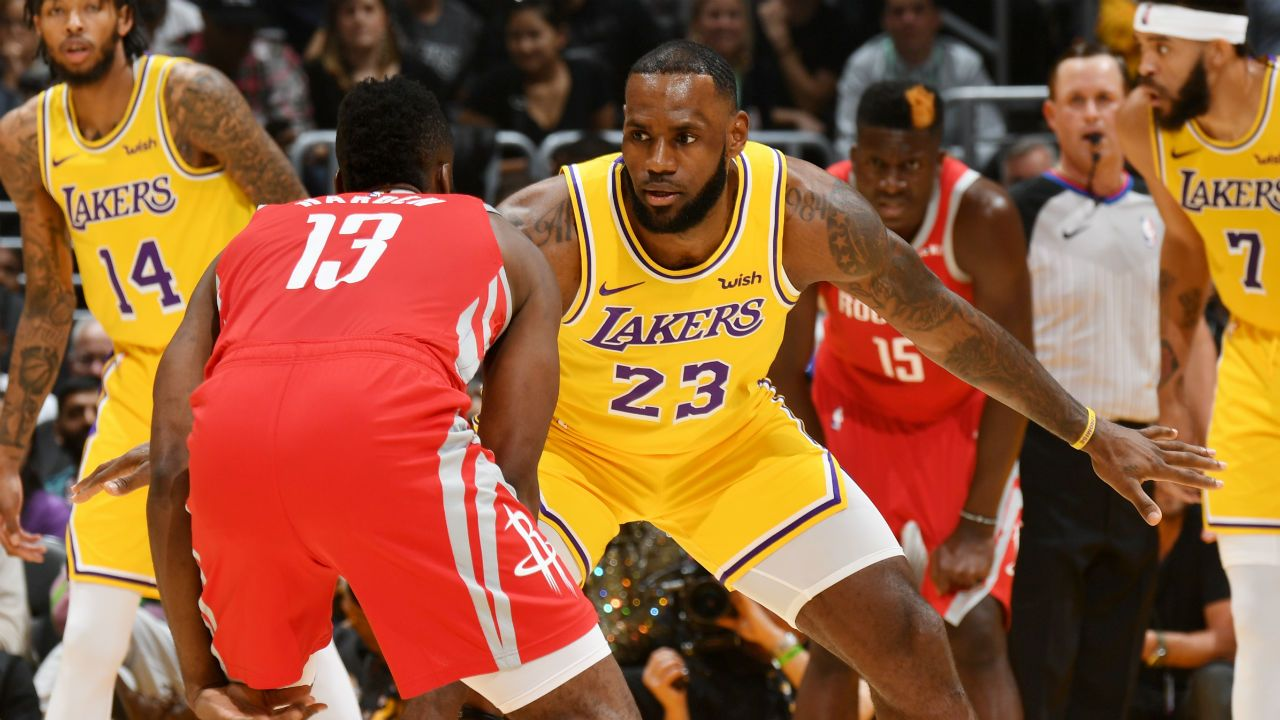 4eca1cc1ad8 harden 1i23alec62de21uloo767m0tcj. LeBron James s home debut with the Los  Angeles Lakers ended on a sour note Saturday as the Houston Rockets ...