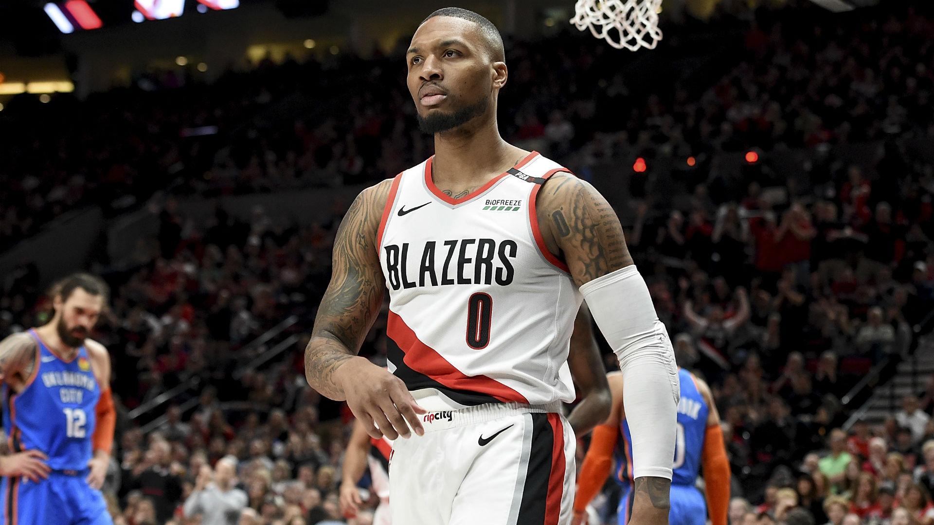 NBA Playoffs 2019: Damian Lillard says 'it's good to get ...