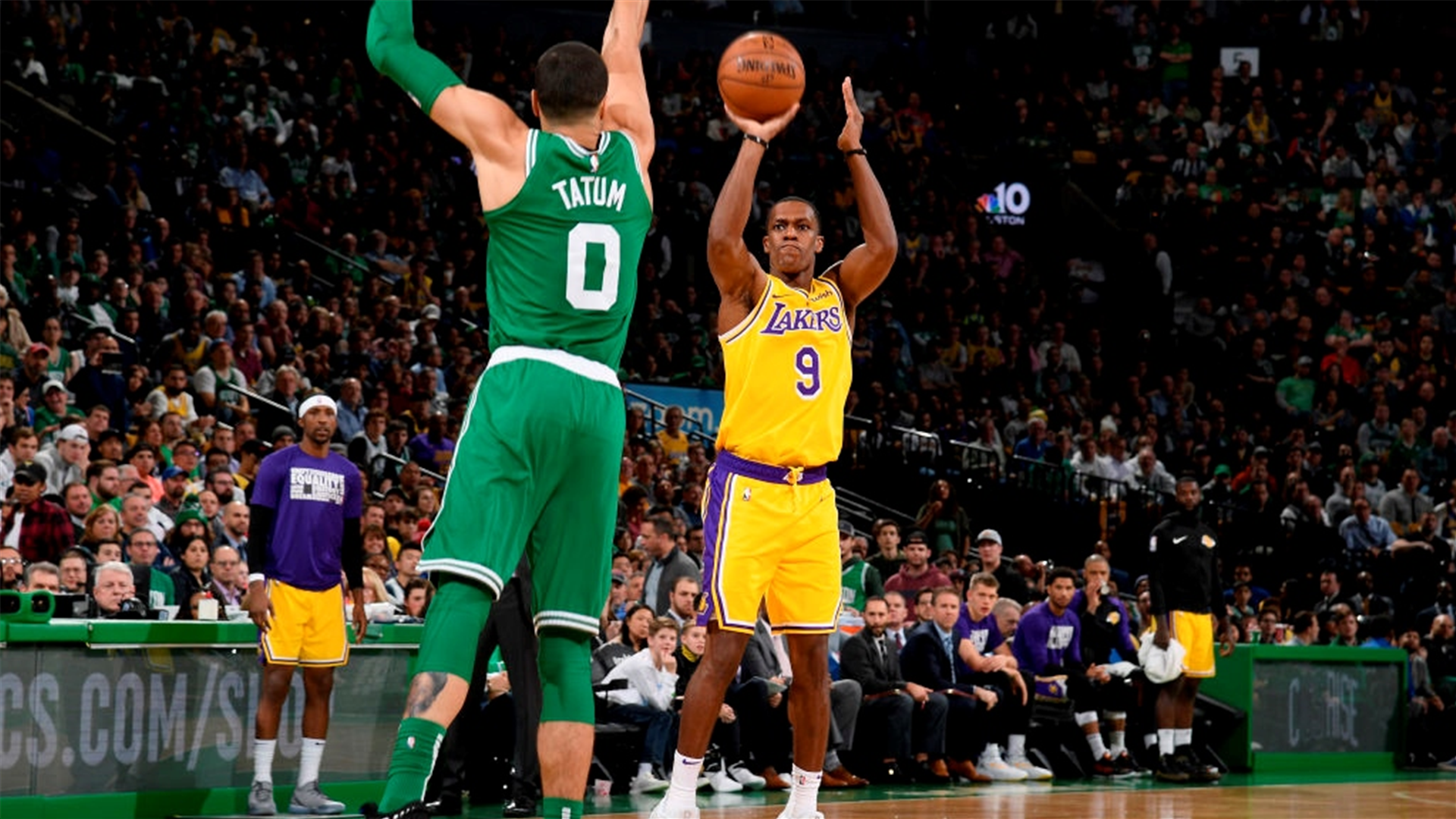 Five takeaways from Rajon Rondo s game-winning shot that led the Los  Angeles Lakers past the Boston Celtics  af8871b23
