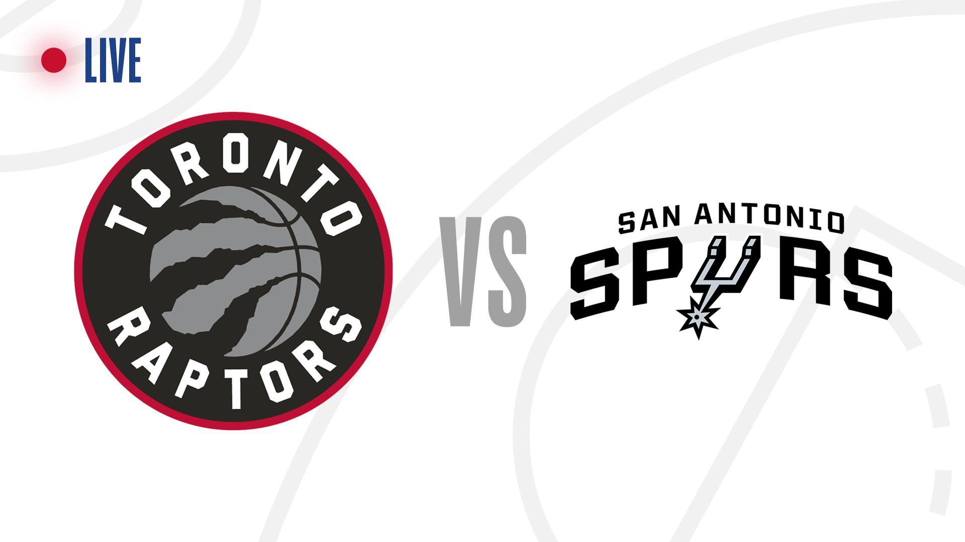 Toronto Raptors Vs San Antonio Spurs Live Score Updates