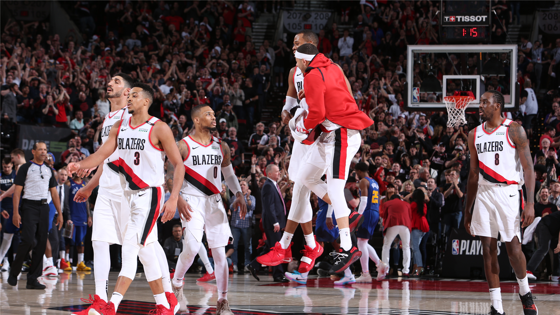 Nba Playoffs 2019  Denver Nuggets Vs  Portland Trail Blazers Live Score  Updates  News  Stats