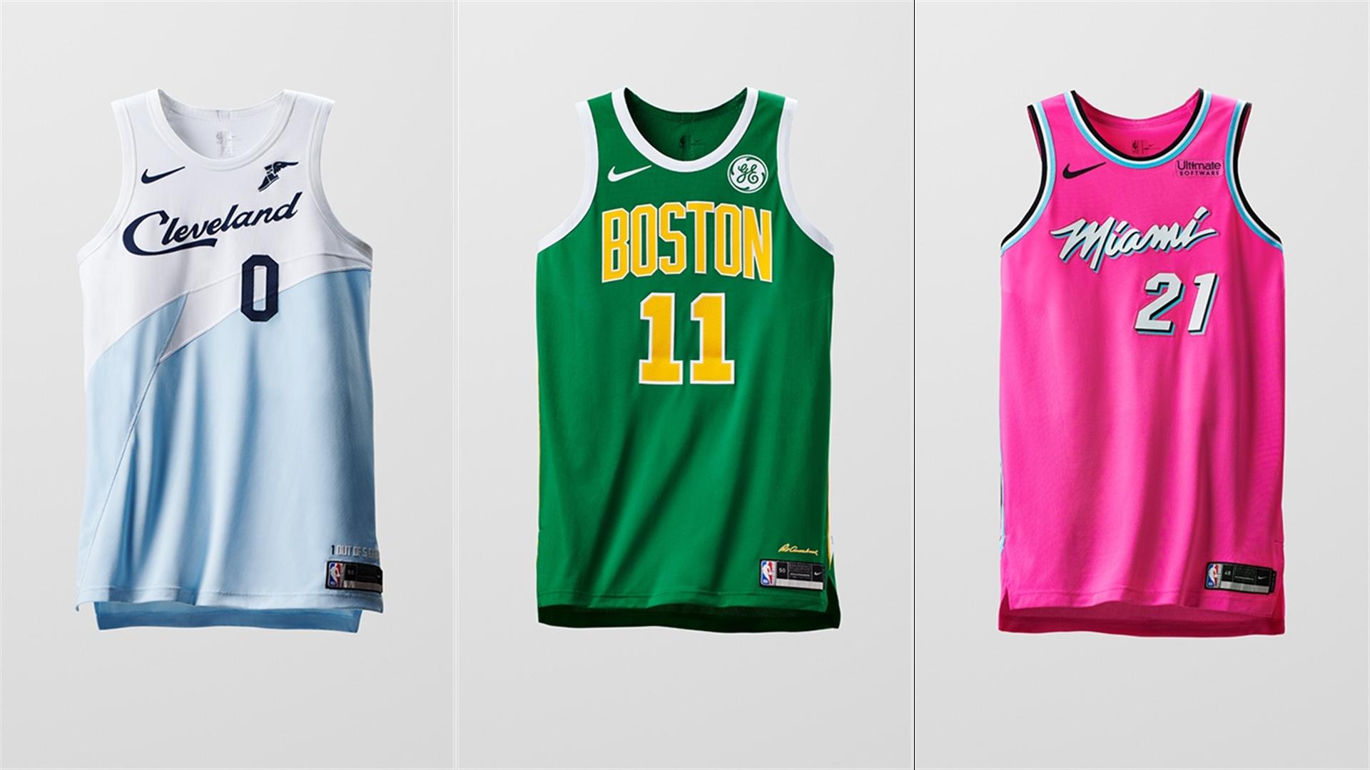 sale retailer 95474 781ea Nike introduces NBA 'Earned' jerseys ahead of Christmas Day ...