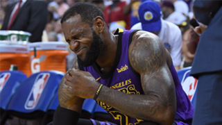 It's not pretty when LeBron James sits out
