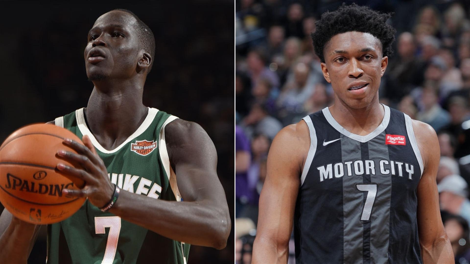 Nba Trade Deadline Bucks Pistons Agree To Trade Around
